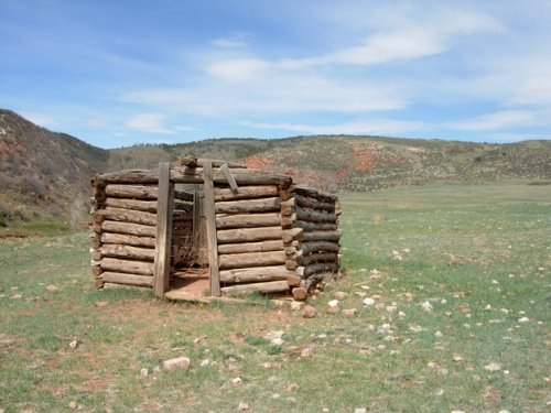 Line shack at Red Mountain Ranch Open Space