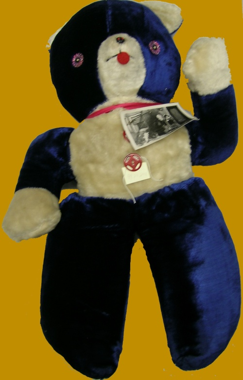 May Wilkin's beloved blue stuffed bear