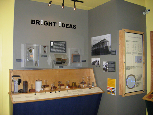 The finished exhibit