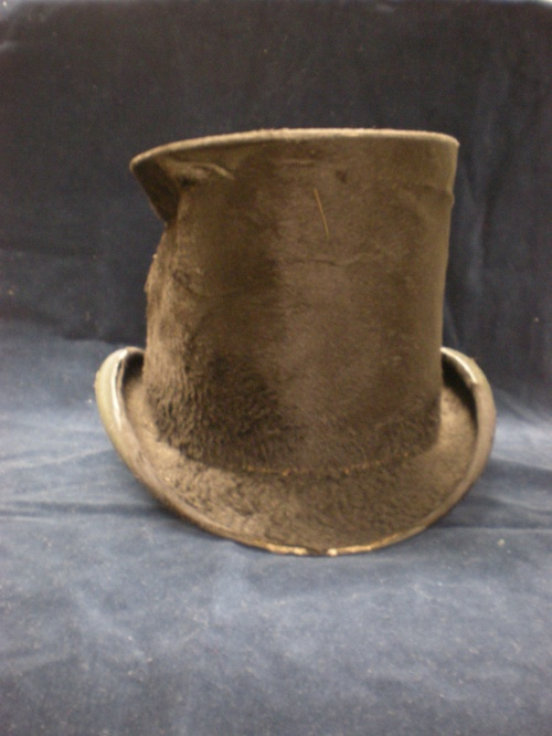 "The ""Lincoln Hat,"" front view"