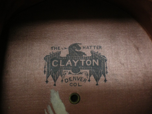"Label from inside the ""Lincoln hat"""