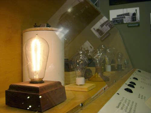 Interact with the light bulbs -- just press a button