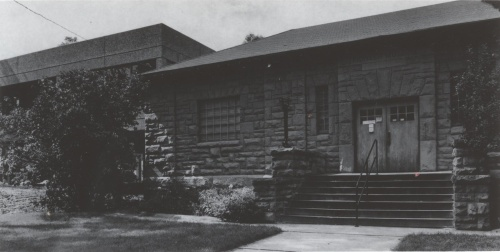 The Pioneer Museum and and the new library