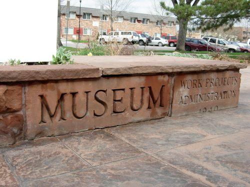 Original WPA cornerstone