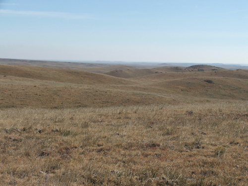 Soapstone's beautiful rolling shortgrass prairie