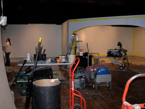 Soon to be our fantastic new exhibit space