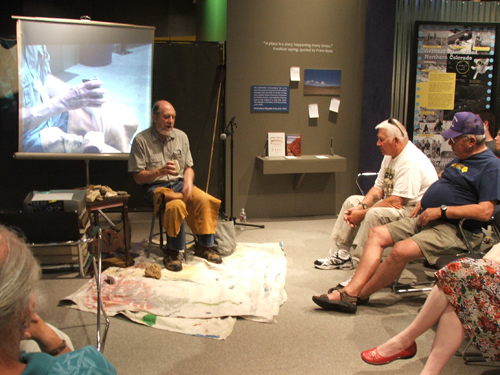 Bob Patten talks about the intricacies flintknapping