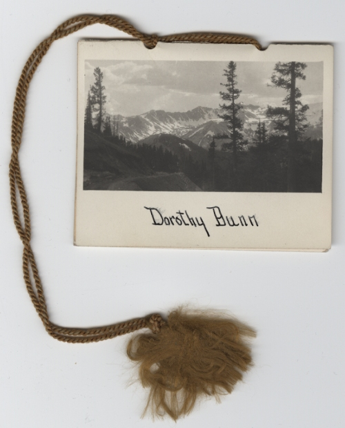 Dorothy Bunn's dance card