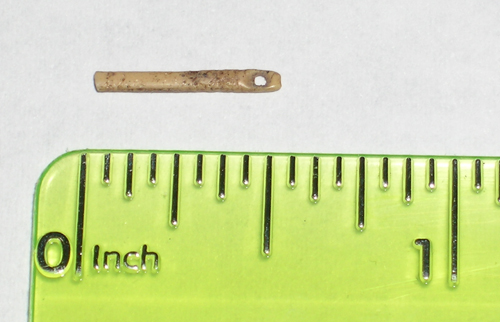 Cast of a Folsom-era bone needle