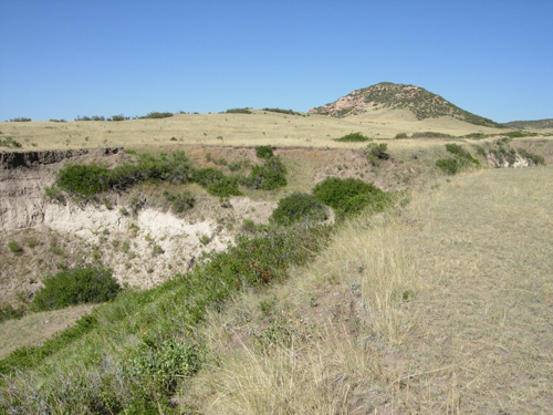 A view of the Lindenmeier arroyo, Soapstone Prairie Natural Area, Colorado