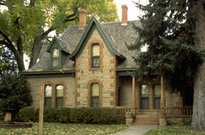 Fort Collins' Avery House. Photo kindly provided by the Local History Archive