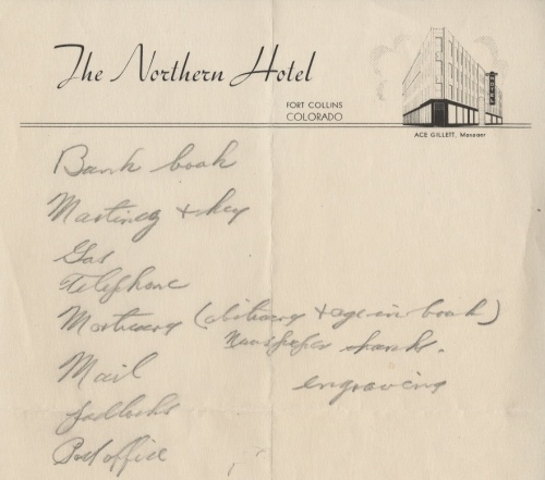 northern hotel note