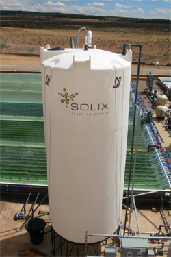 Photo courtesy of Solix Biofuels